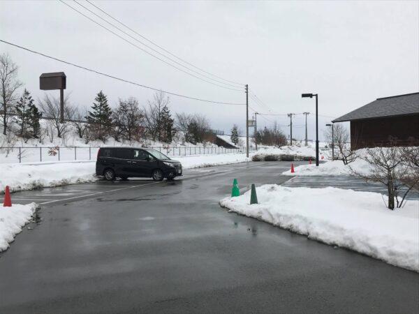 西沼田遺跡公園駐車場